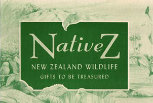 NativeZ - NZ Wildlife Gifts to be Treasured